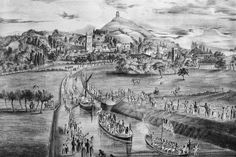 Opening of the Glastonbury Canal