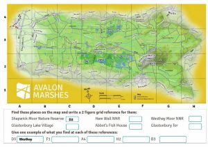 Avalon Marshes map