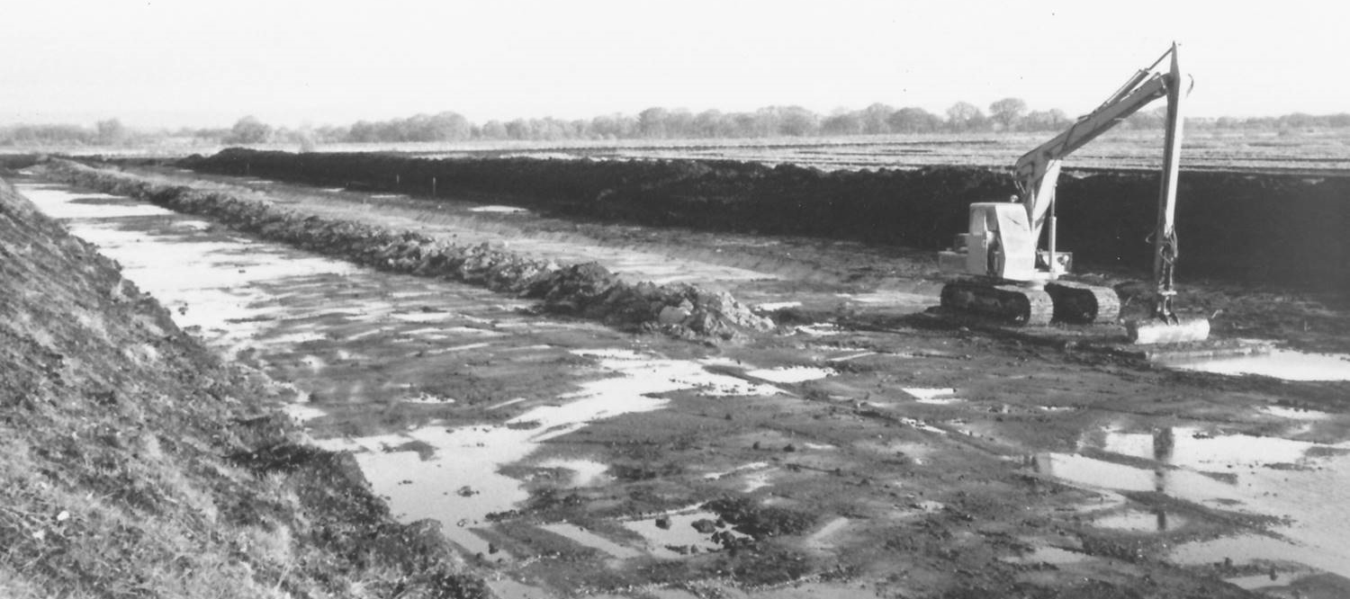 Shapwick Heath peat digging