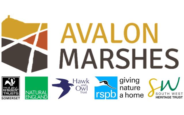 Avalon Marshes and main partners logos