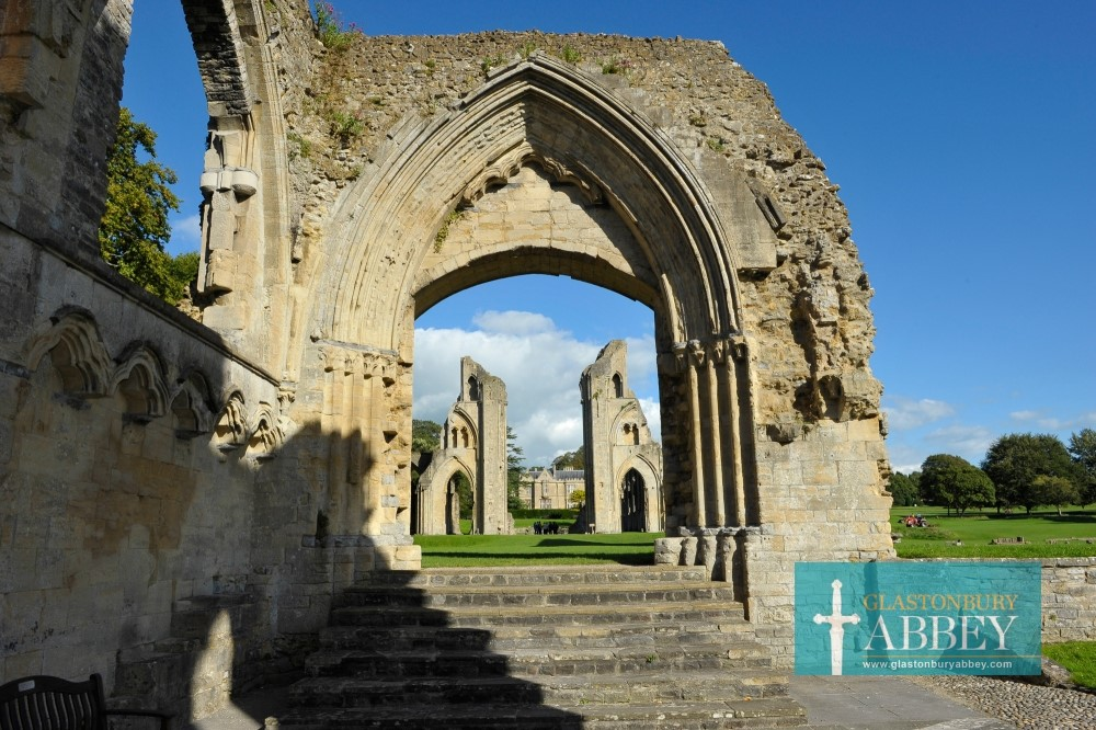 Glastonbury Abbey arch