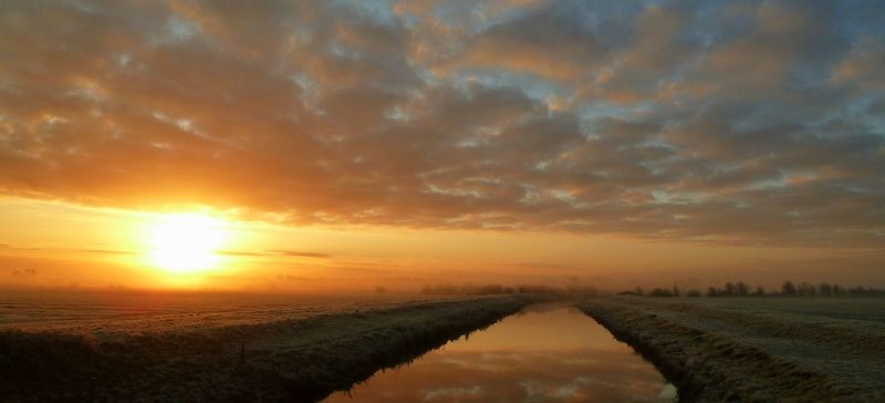 River Brue Sunrise