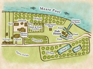 Meare Manor area layout
