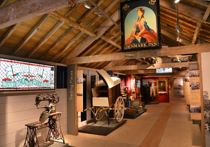 Inside view of Rural Life Museum
