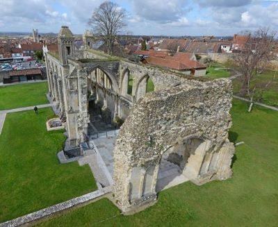 Glastonbury Abbey Medieval myths and facts